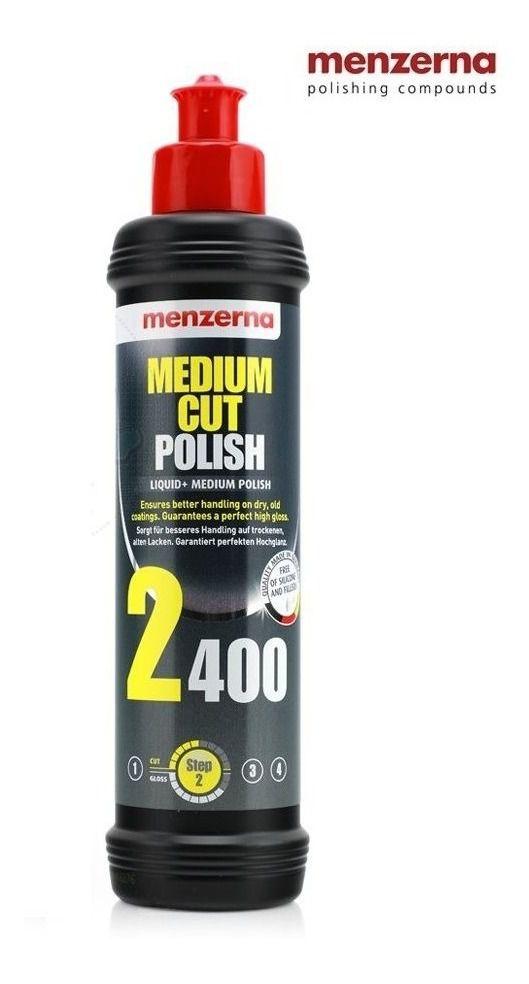 Polidor de Refino Medium Cut PF2400 MENZERNA 250ML