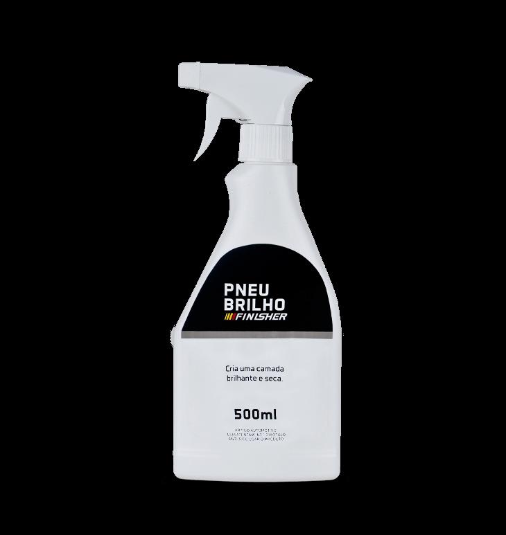 Pretinho Pneu Brilho Spray FINISHER 500ML
