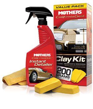 Removedor de Contaminações e Restaurador Clay Bar System MOTHERS KIT