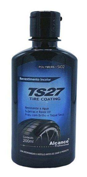 Revestimento Pneu TS27 com Sio2 ALCANCE 200ML