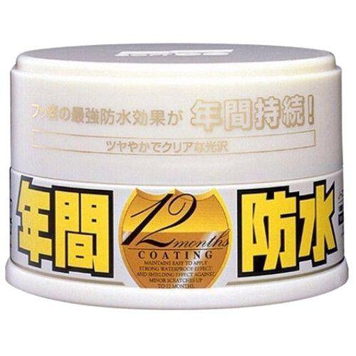 Selante Sintético Paste Wax Coat Fusso Light SOFT99 200GR