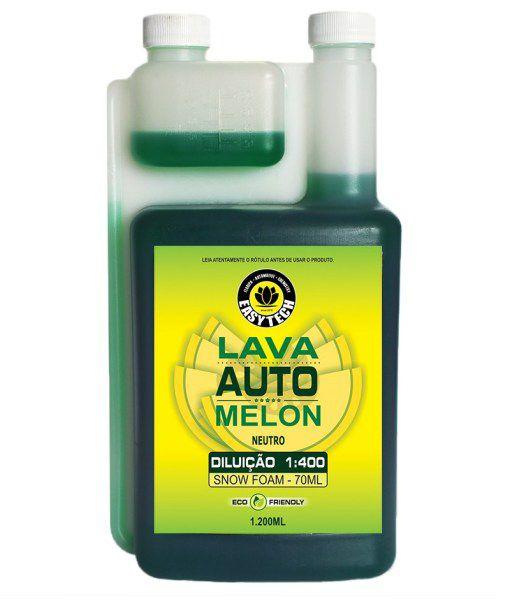 Shampoo Automotivo Melon Concentrado 1:400 EASYTECH 1,2L