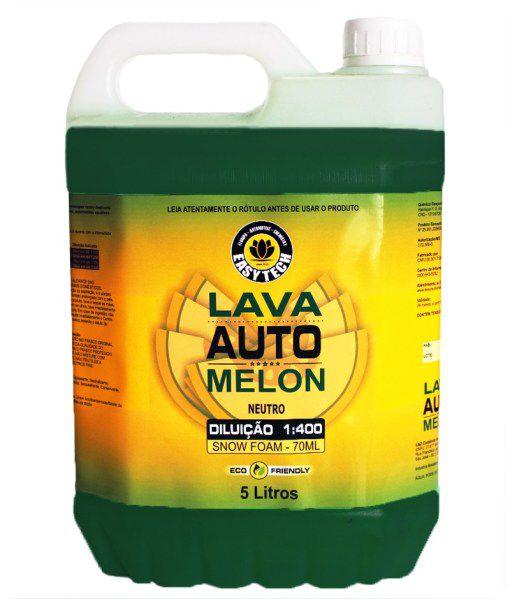 Shampoo Automotivo Melon Concentrado 1:400 EASYTECH 5L