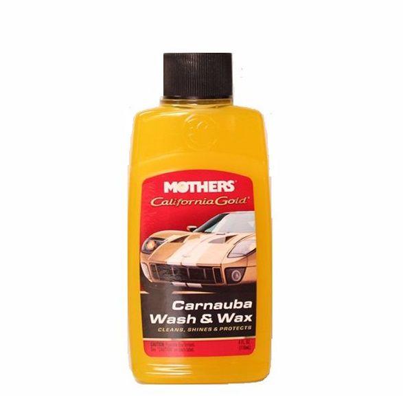 Shampoo com Carnaúba Califórnia Gold Wash and Wax MOTHERS 118ML