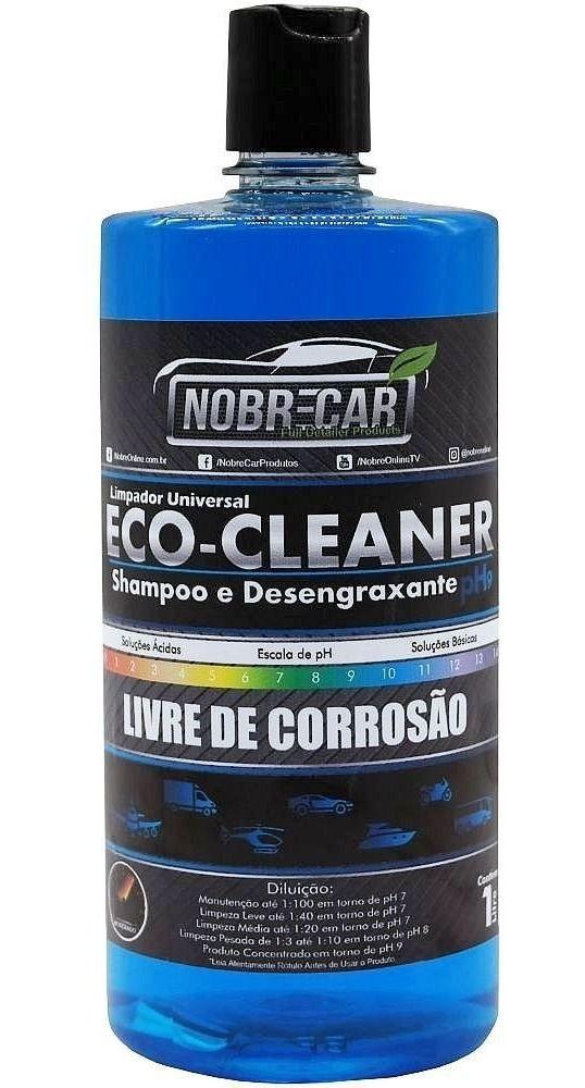 Shampoo e Desengraxante Ph9 Eco Cleaner NOBRE CAR 1L