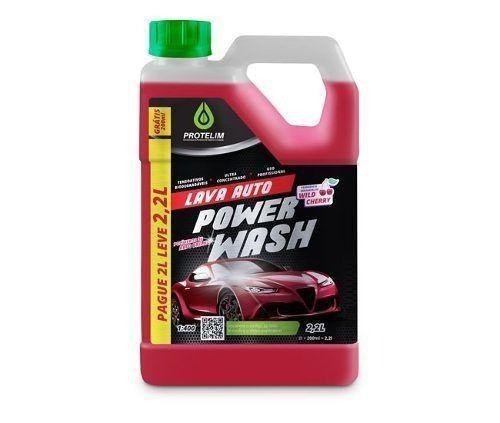 Shampoo Power Wash Ultra Concentrado 1:400 Protelim 2,2l