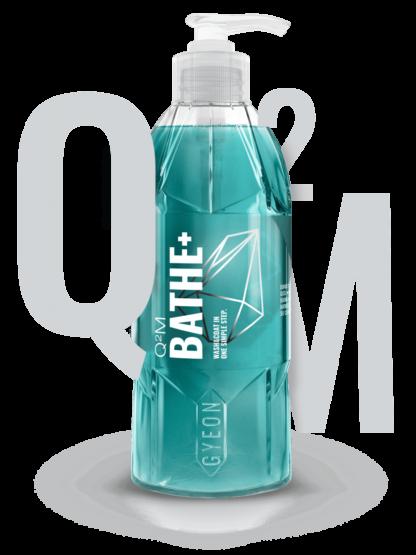 Shampoo Q2M Bathe+ Hidrofóbico 1: 500 400ml GYEON