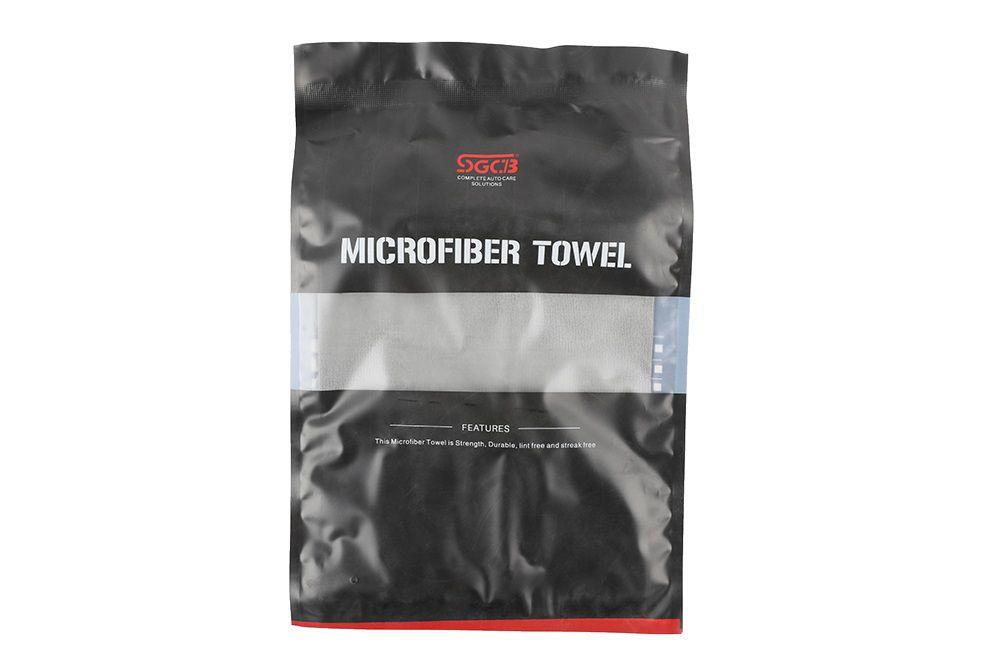 Toalha de Microfibra Dust Cinza 380GSM SGCB 40X40