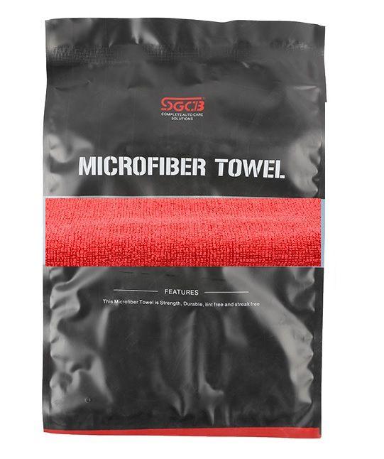Toalha de Microfibra Dust Vermelha 380GSM SGCB 40X40