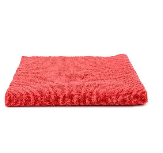 Toalha de Microfibra Wax Vermelha 380gsm SGCB 40X60