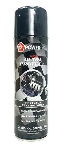 Verniz de Motor Spray Ultra Protect POWER CLEAN 300ML