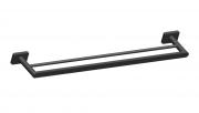 Porta Toalha Duplo de 60cm em Aço Inoxidável para Banheiro - Westing