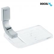 Saboneteira Para Banheiro Acrílica de Parede Linha Top Docol