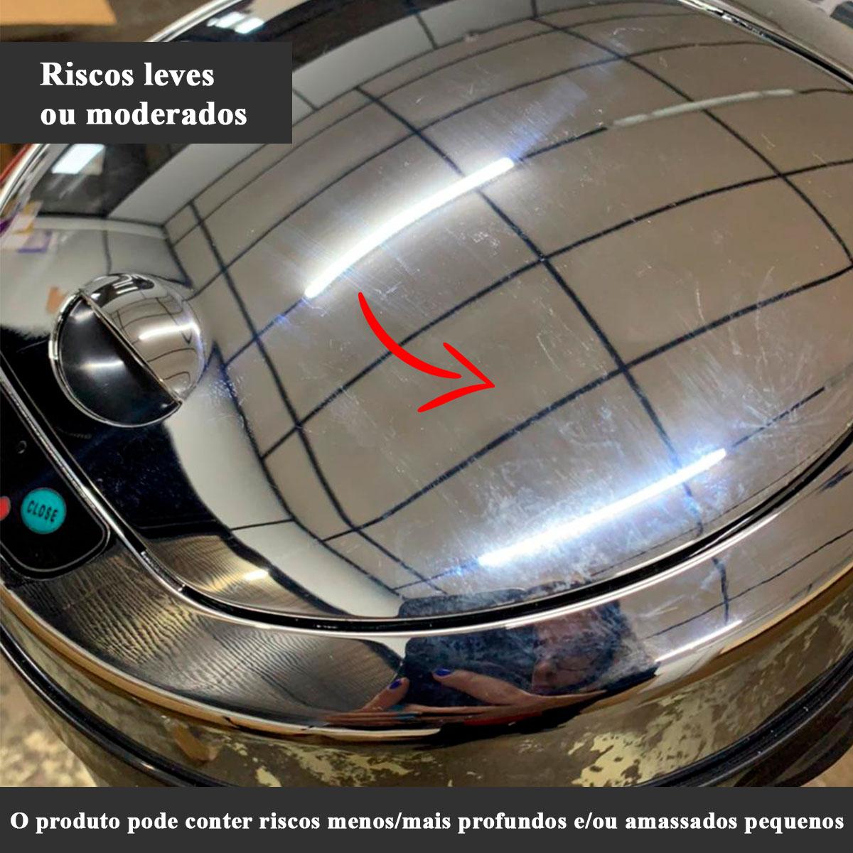 Lixeira Inox com Sensor Automática 42 Litros Westing -  Com Avarias
