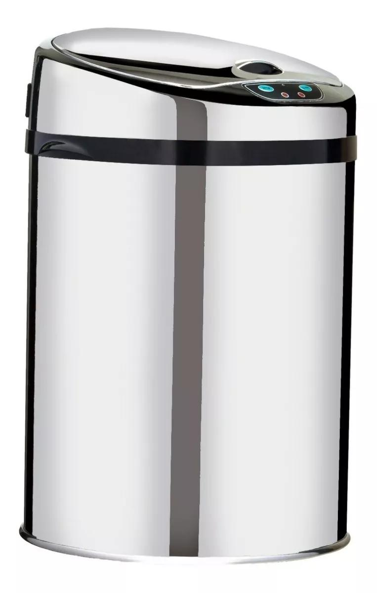 Lixeira Com Sensor Automática Inox Cromado - 9 Litros Westing