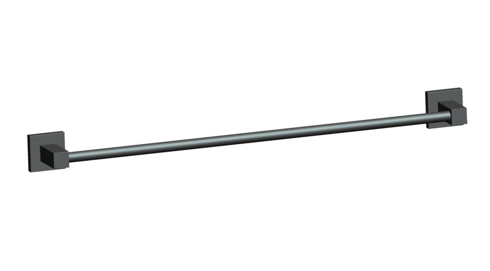 Porta Toalha de Banho 60cm em Aço Inoxidável para Banheiro - Westing