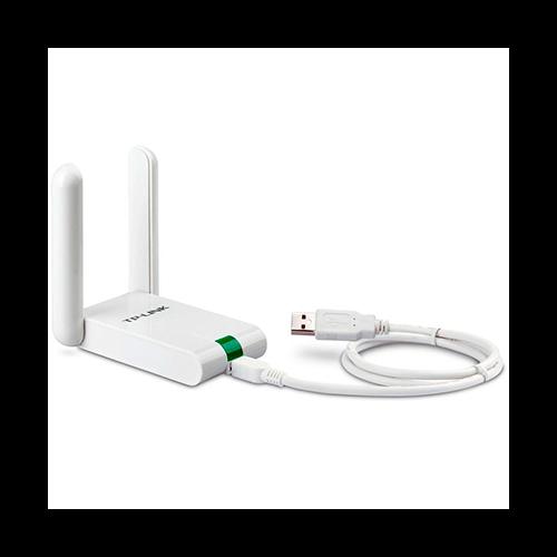 Adap Usb Wireless 02 antenas 300MB WN822N Tplink