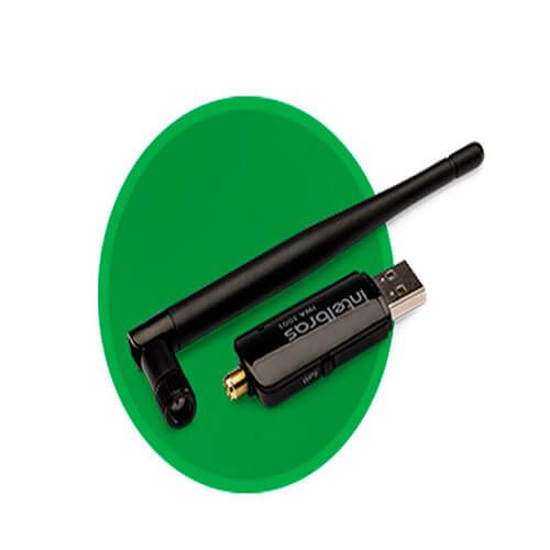 Adaptador USB Wireless com Antena Externa IWA 3001 Intelbras