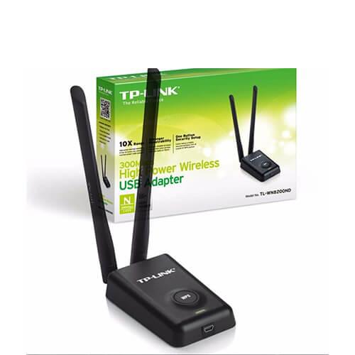Adaptador Wireless USB 300Mbps 2 Antenas WN8200ND TPLink
