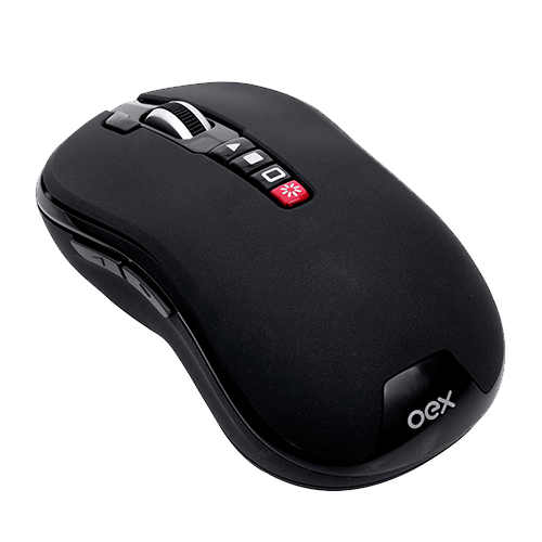 Apresentador Mouse Laser Point Ms700 Oex 1200Dpi