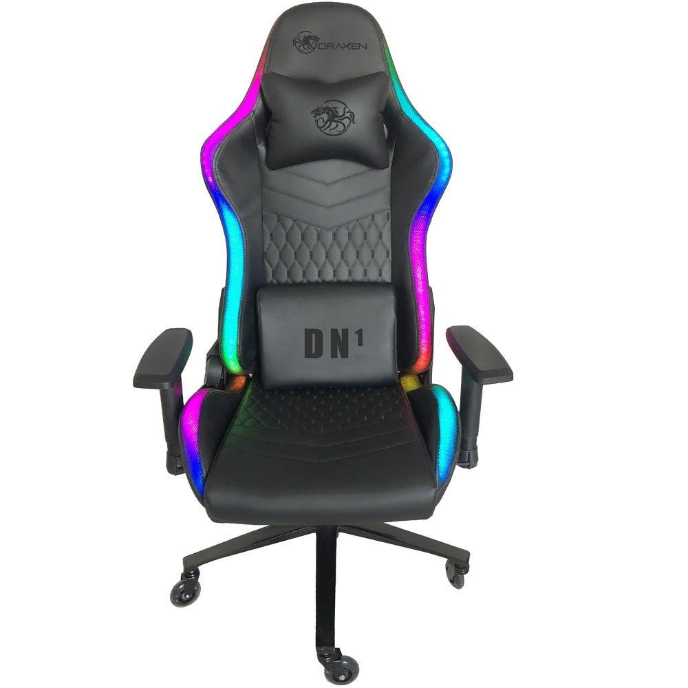 Cadeira Gamer Draxen DN1 RGB Silicone Draxen