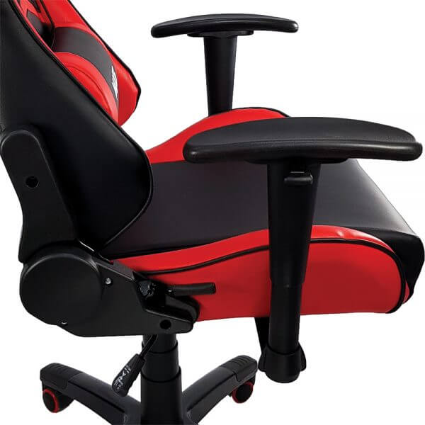 Cadeira Gamer MX5 Giratória MYMAX Vermelha/Preto