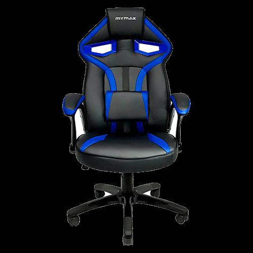 Cadeira Gamer Mymax Mx1 Azul Preto