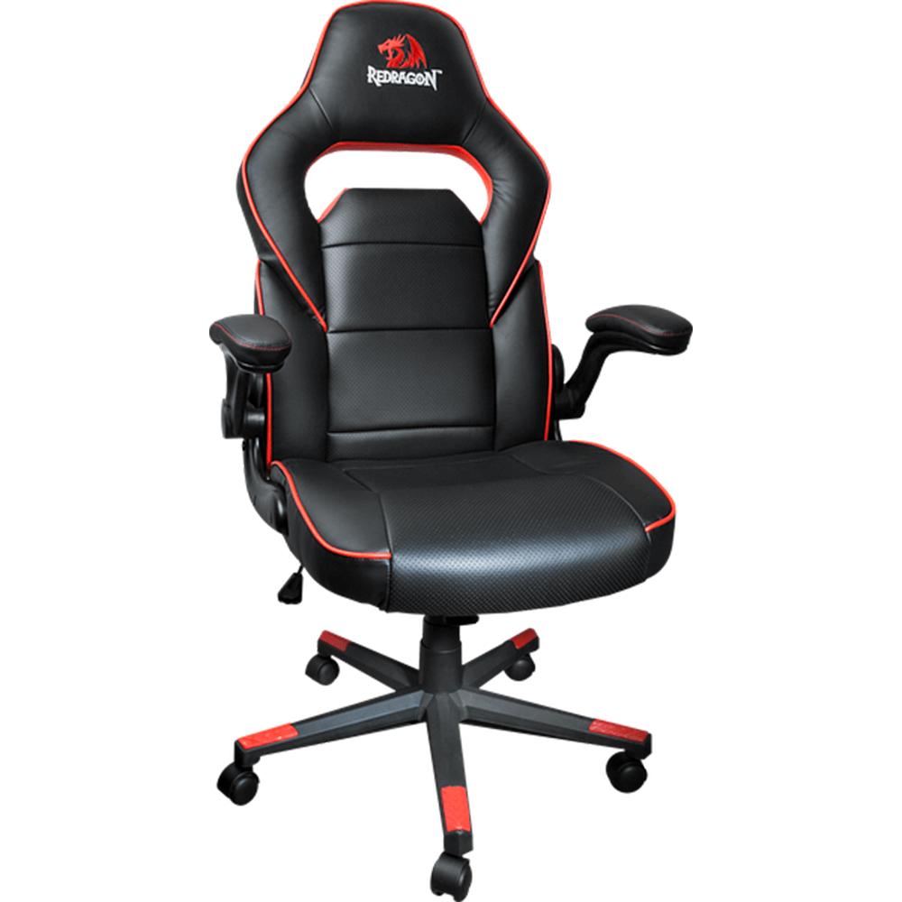 Cadeira Gamer Redragon C501Br Preta/Vermelha