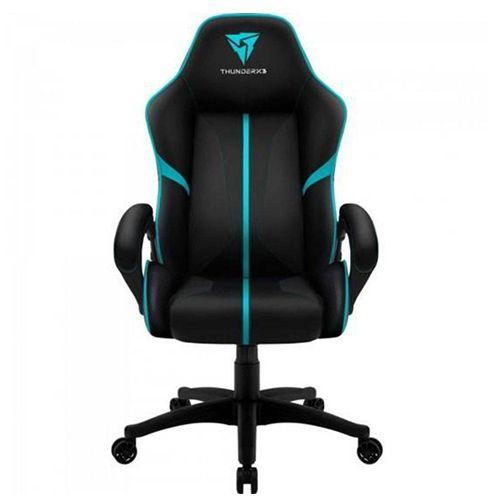 Cadeira Gamer Thunderx3  Air BC-1 Preta/Cyan EN61867