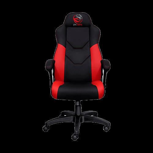 Cadeira Gamer V6 PCYES Vermelha Preto Racer Turbo