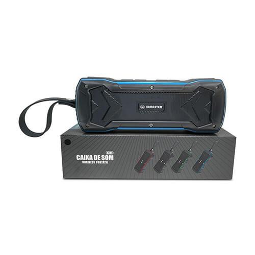 Caixa de som Bluetooth 10w  K335 Supreme Kimaster
