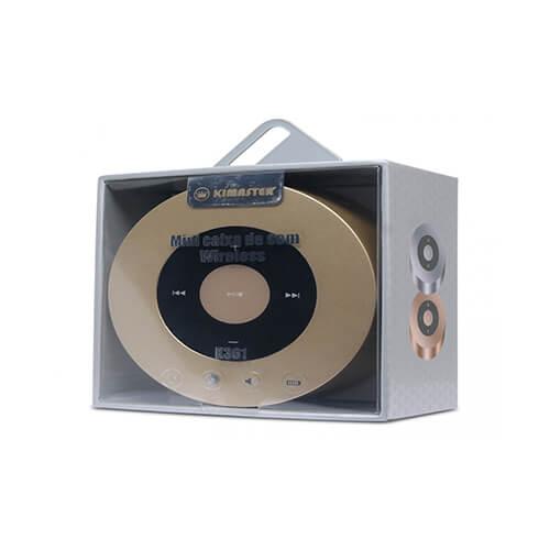Caixa de Som Bluetooth K361 Kimaster