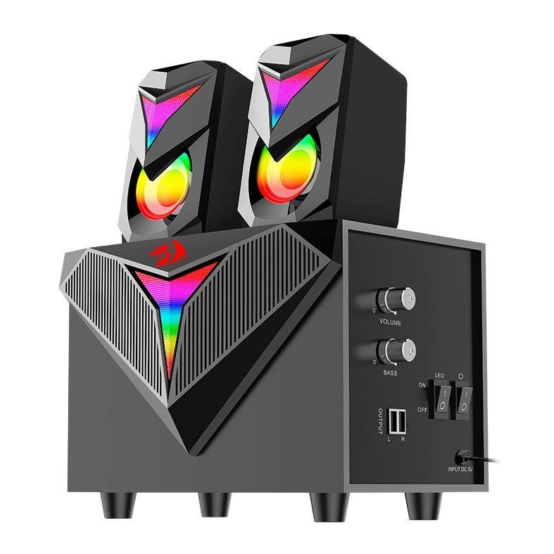 Caixa de Som Gamer Redragon GS700 RGB Toccata