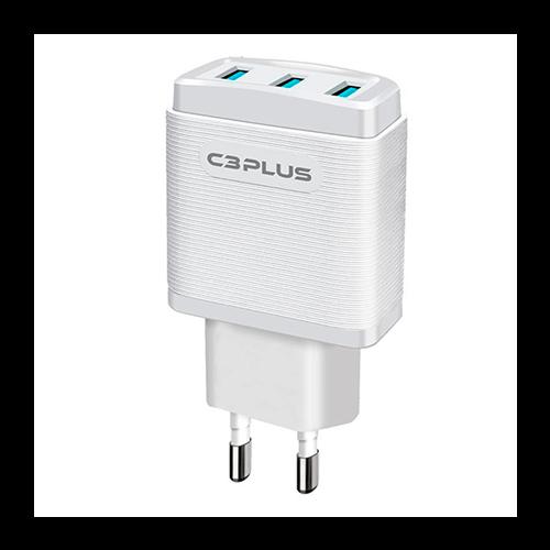 Carregador Celular 3 USB UC-30Whx 3,1A C3TECH