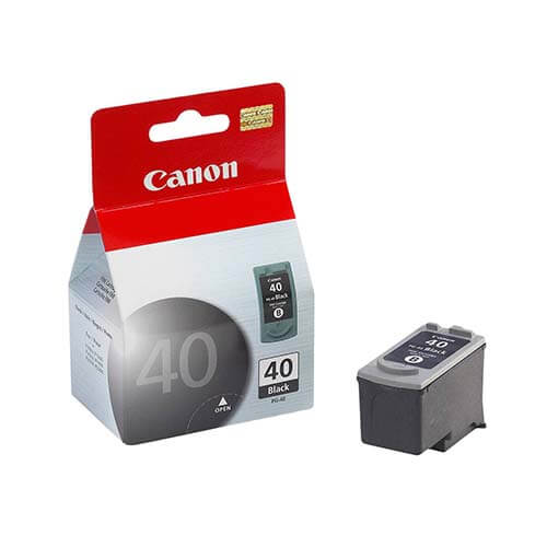 Cartucho Canon PG-40 PRETO 16ML IP1600/IP2200