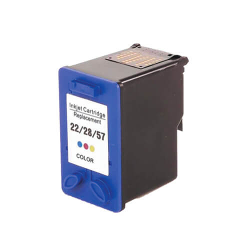 Cartucho HP 22/28/57A Colorido Compativel Officet J3680, J5508, Deskjet 2224