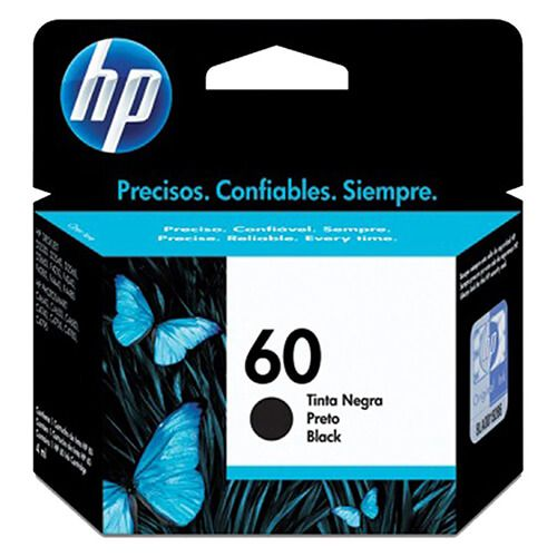 Cartucho HP CH640WB 60a Preto 4ml Original