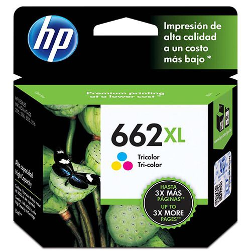 Cartucho HP CZ106AB 662XL Colorido 8ml Original