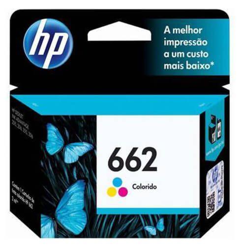 Cartucho HP Z104A 662 Colorido 2ml Original