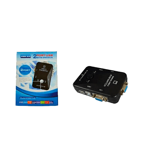 Chave KVM 2PC, 1Monitor, 2USB  KVM21Ua DLINK
