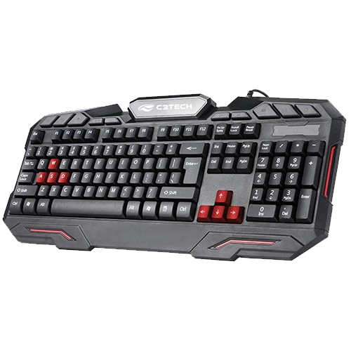 Combo Gamer C3TECH - Teclado Gamer + Mouse Gamer USB + Headset  GK100BK