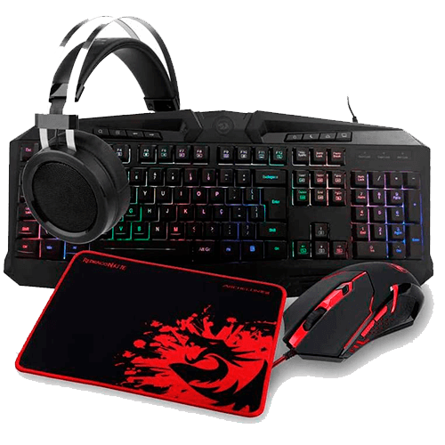 Combo Gamer Redragon S112 Completo