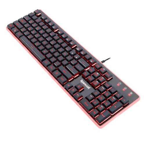 Combo Teclado + Mouse + Mouse Pad Redragon S107