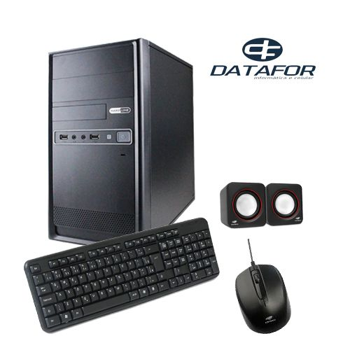 Kit Micro Intel i5 9400F 4GB SSD240 500W Win10 Pro