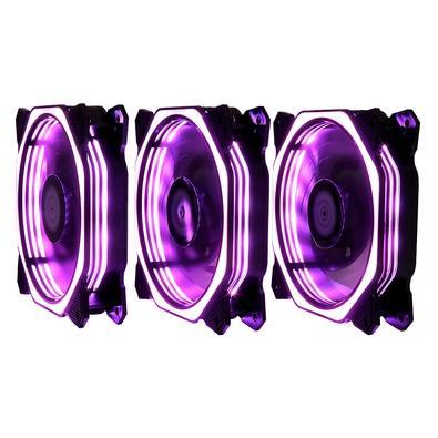 Cooler Fan Kit03 Fans RM-AU-02-RGB 120X120X25MM C/Controle