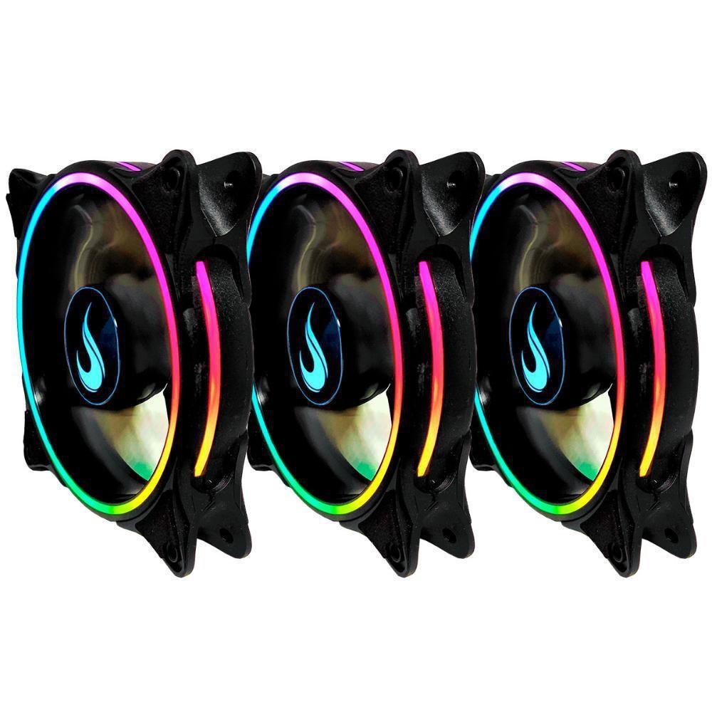 Cooler Fan Kit03 Fans RM-RGB-05-5V 120X120X25MM C/Controle  Laser