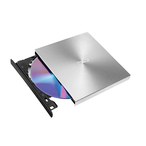 Drive Gravador Externo Asus CD/DVD ZenDrive U7M Ultra-Slim aluminio