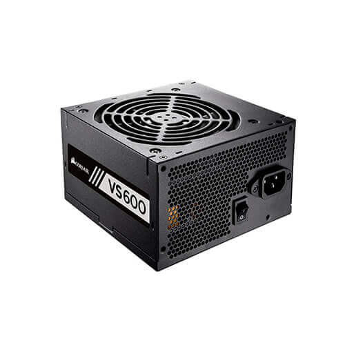 Fonte de Alimentação 80Plus 600w Corsair VS600 White