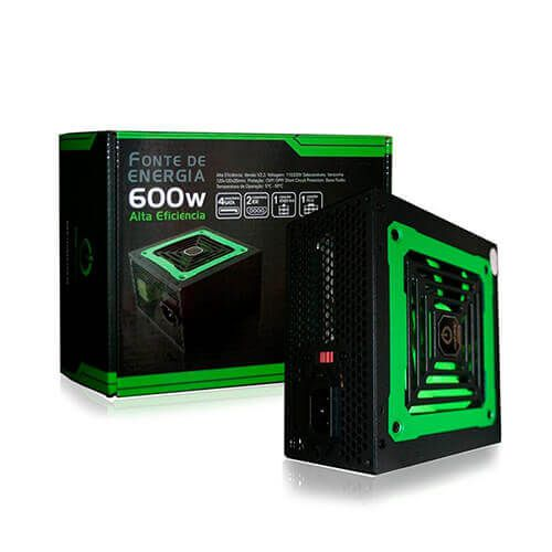 Fonte de Almientação ATX 600w Real One Power MP600W3-I
