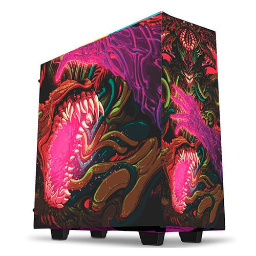 Gabinete Gamer Customizado Hyper Beast 2 Thermaltake V200